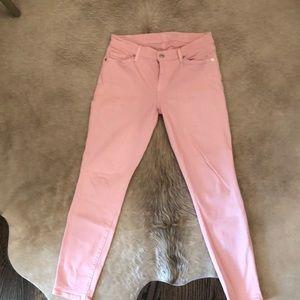 Pink Seven denim jeans